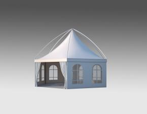 Kiraye cadirlar - Altıtərəfli çadır London diametr 8m – cadirlarin kirayesi, satisi ve qiymeti