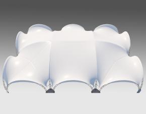 Kiraye cadirlar - Арочный шатер 24х16 — 384 м²  – cadirlarin kirayesi, satisi ve qiymeti