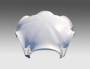 Kiraye cadirlar - Арочный шатер 20х17 — 260 м²  – cadirlarin kirayesi, satisi ve qiymeti