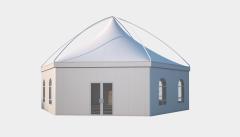 Kiraye cadirlar - Altıtərəfli çadır London diametr 12m – cadirlarin kirayesi, satisi ve qiymeti