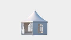 Kiraye cadirlar - Altıtərəfli çadır Rimini diametr 6m – cadirlarin kirayesi, satisi ve qiymeti