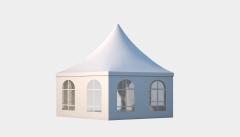 Kiraye cadirlar - Altıtərəfli çadır standart diametr 8m – cadirlarin kirayesi, satisi ve qiymeti