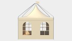 Kiraye cadirlar - Çadır Pagoda London 4х4 – cadirlarin kirayesi, satisi ve qiymeti