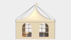 Kiraye cadirlar - Çadır Pagoda London 5х5 – cadirlarin kirayesi, satisi ve qiymeti