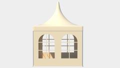 Kiraye cadirlar - Çadır Pagoda Rimini 3x3 – cadirlarin kirayesi, satisi ve qiymeti