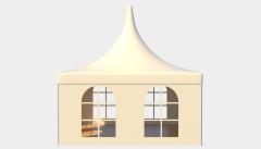 Kiraye cadirlar - Çadır Pagoda Rimini 5х5 – cadirlarin kirayesi, satisi ve qiymeti