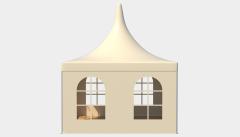 Kiraye cadirlar - Çadır Pagoda standart 4х4 – cadirlarin kirayesi, satisi ve qiymeti