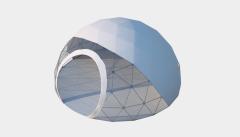 Kiraye cadirlar - Сферический шатер диаметр 6 м  – cadirlarin kirayesi, satisi ve qiymeti