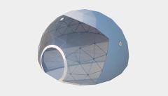 Kiraye cadirlar - Сферический шатер диаметр 8 м  – cadirlarin kirayesi, satisi ve qiymeti
