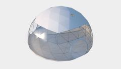 Kiraye cadirlar - Сферический шатер диаметр 10 м  – cadirlarin kirayesi, satisi ve qiymeti