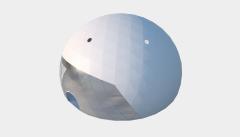 Kiraye cadirlar - Сферический шатер диаметр 25 м  – cadirlarin kirayesi, satisi ve qiymeti