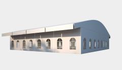 Kiraye cadirlar - Шатер для выставок 20х20 – cadirlarin kirayesi, satisi ve qiymeti
