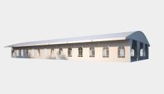 Kiraye cadirlar - Шатер для выставок 15х35 – cadirlarin kirayesi, satisi ve qiymeti