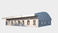 Kiraye cadirlar - Sərgilər üçün çadır  20х25 – cadirlarin kirayesi, satisi ve qiymeti