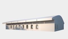 Kiraye cadirlar - Sərgilər üçün çadır  20х30 – cadirlarin kirayesi, satisi ve qiymeti