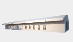 Kiraye cadirlar - Sərgilər üçün çadır  20х40 – cadirlarin kirayesi, satisi ve qiymeti