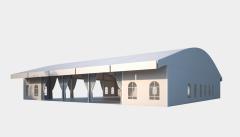 Kiraye cadirlar - Шатер для выставок 25х25 – cadirlarin kirayesi, satisi ve qiymeti