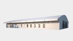 Kiraye cadirlar - Шатер для выставок 25х40 – cadirlarin kirayesi, satisi ve qiymeti