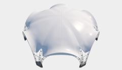 Kiraye cadirlar - Taglı çadır 12х10 — 94 m² – cadirlarin kirayesi, satisi ve qiymeti