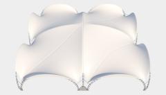 Kiraye cadirlar - Taglı çadır 20х20 — 400 m²  – cadirlarin kirayesi, satisi ve qiymeti