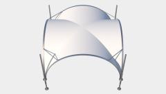 Kiraye cadirlar - Арочный шатер 3,5х3,5 — 12,25 м²  – cadirlarin kirayesi, satisi ve qiymeti