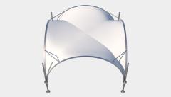 Kiraye cadirlar - Taglı çadır 5х5 — 25 m² – cadirlarin kirayesi, satisi ve qiymeti