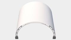 Kiraye cadirlar - Арочный шатер 6х5 — 30 м² – cadirlarin kirayesi, satisi ve qiymeti
