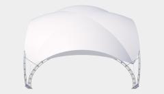 Kiraye cadirlar - Арочный шатер 8х8 — 64 м² – cadirlarin kirayesi, satisi ve qiymeti