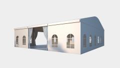 Kiraye cadirlar - Tədbirlər üçün çadır  15х15 – cadirlarin kirayesi, satisi ve qiymeti