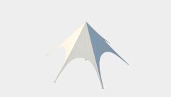 Kiraye cadirlar - Шатёр Звезда 10 м Стандарт – cadirlarin kirayesi, satisi ve qiymeti