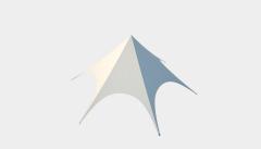 Kiraye cadirlar - Ulduz çətir 14m Ekonom – cadirlarin kirayesi, satisi ve qiymeti