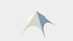 Kiraye cadirlar - Ulduz çətir 16 standart – cadirlarin kirayesi, satisi ve qiymeti
