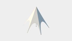 Kiraye cadirlar - Шатёр Звезда 6 м Стандарт – cadirlarin kirayesi, satisi ve qiymeti