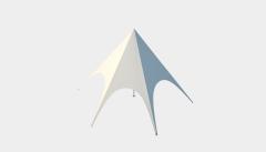 Kiraye cadirlar - Шатёр Звезда 8 м Стандарт – cadirlarin kirayesi, satisi ve qiymeti